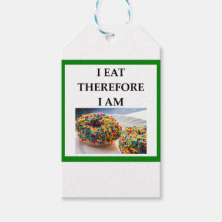 doughnut pack of gift tags