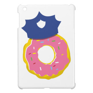 doughnut police officers hat iPad mini cover
