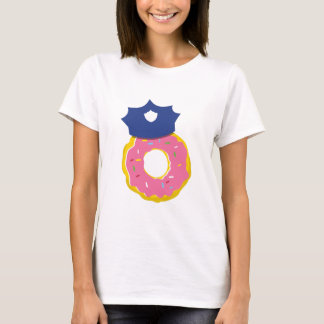 doughnut police officers hat T-Shirt