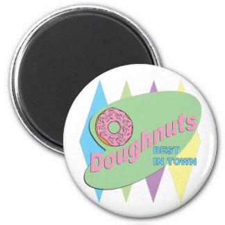 doughnut shop 2 inch round magnet