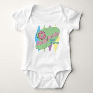 doughnut shop baby bodysuit