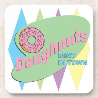 doughnut shop coaster