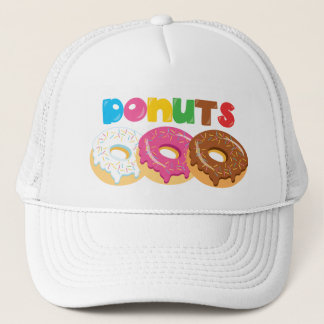 Doughnut Shop Festival Bakery Fair business hat