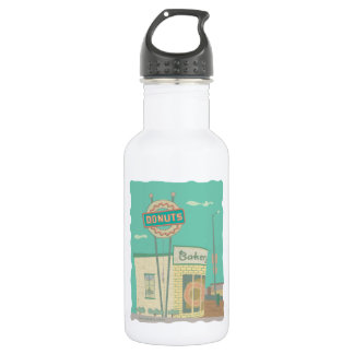 Doughnut Shop-from Route 66 Memories 532 Ml Water Bottle