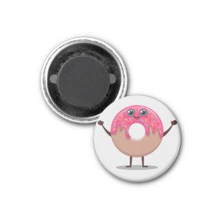 doughnut time 1 inch round magnet