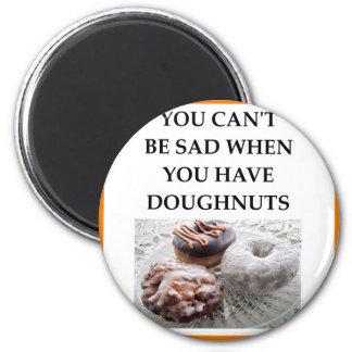 DOUGHNUTS 2 INCH ROUND MAGNET