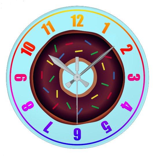 Doughnuts: Acrylic Wall Clock