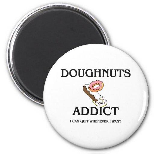 Doughnuts Addict Magnets