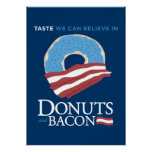 Doughnuts and Bacon: Taste we can Believe in - blu Print