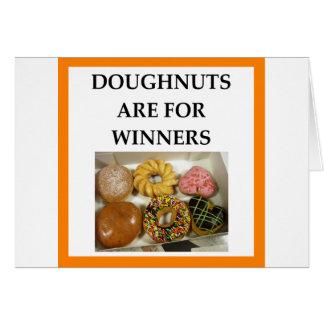 DOUGHNUTS CARD