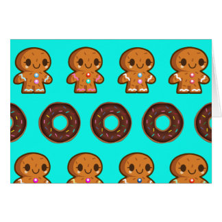 Doughnuts & coffee card