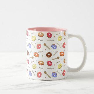 Doughnuts Homemade 11 oz Two-Tone Mug