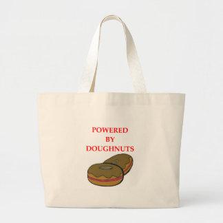 DOUGHNUTS LARGE TOTE BAG