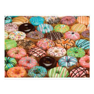 doughnuts postcard