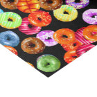 Doughnuts seamless pattern + your backgr. & ideas tissue paper