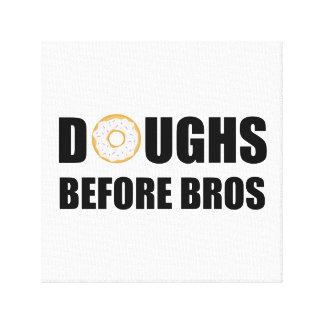 Doughs Before Bros Canvas Print