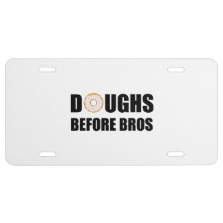 Doughs Before Bros License Plate