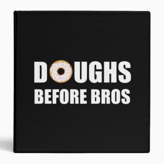 Doughs Before Bros Vinyl Binder