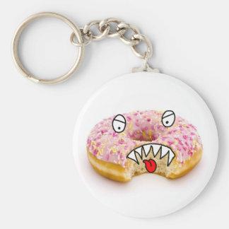 doughtnut monster key chain