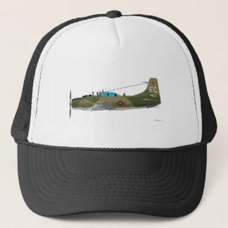 Douglas A-1E Skyraider Trucker Hat