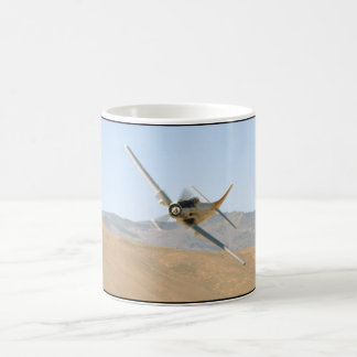 Douglas AD-1 Skyraider, Banking Left_WWII Planes Coffee Mug