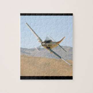 Douglas AD-1 Skyraider, Banking Left_WWII Planes Jigsaw Puzzle