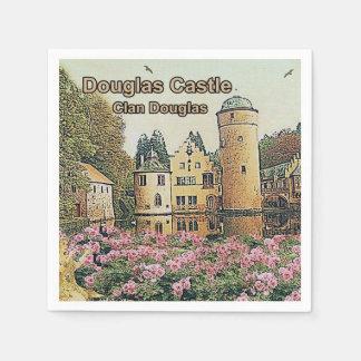 Douglas Castle – Seat Of Clan Douglas Disposable Napkin