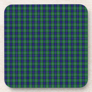 Douglas Clan Family Tartan Coaster