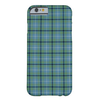 Douglas Clan Light Blue and Green Ancient Tartan Barely There iPhone 6 Case