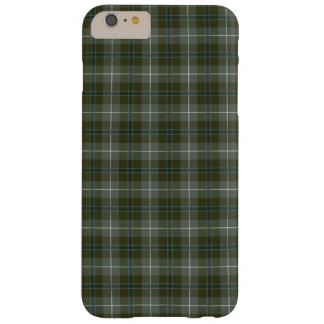Douglas Clan Moss Green Weathered Tartan Barely There iPhone 6 Plus Case