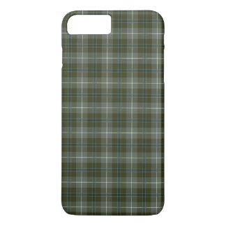 Douglas Clan Moss Green Weathered Tartan iPhone 8 Plus/7 Plus Case