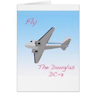 Douglas DC3 Card
