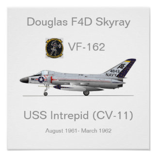 Douglas F4D Skyray Poster
