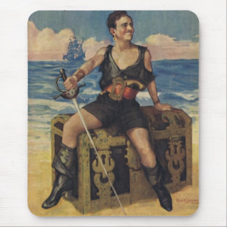 Douglas Fairbanks Black Pirate Mousepad
