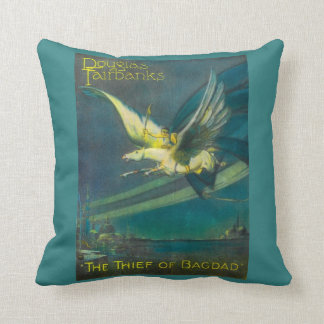 Douglas Fairbanks Thief of Bagdad  Poster Pillow