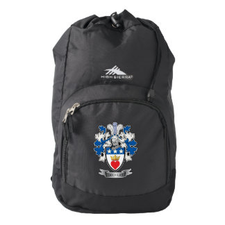 Douglas Family Crest Coat of Arms Backpack