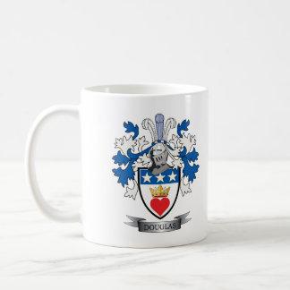 Douglas Family Crest Coat of Arms Coffee Mug