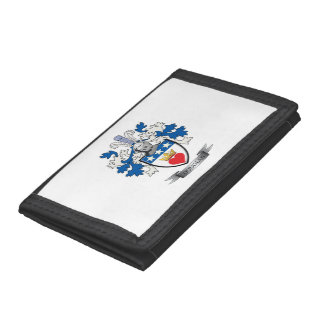 Douglas Family Crest Coat of Arms Tri-fold Wallets