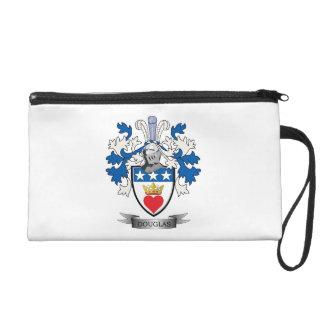 Douglas Family Crest Coat of Arms Wristlet Clutch