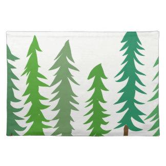 Douglas Fir Trees Placemat