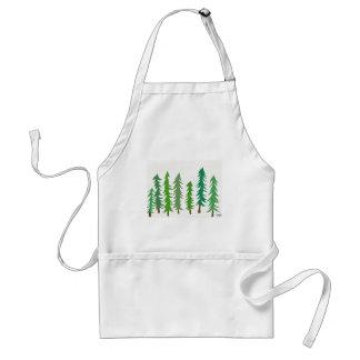 Douglas Fir Trees Standard Apron