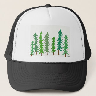 Douglas Fir Trees Trucker Hat