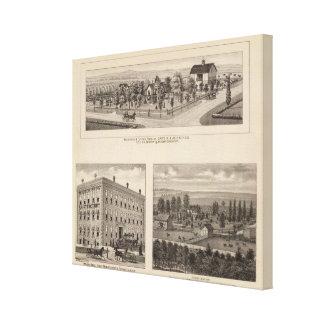 Douglas, Kansas Stretched Canvas Prints