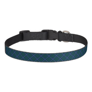 Douglas Modern Clan Tartan Pet Collar