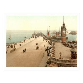 Douglas Pier, Isle of Man, England Postcard