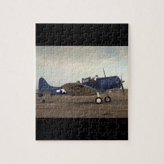 Douglas, SBD Dauntless,_Classic Aviation Jigsaw Puzzle