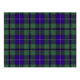 Douglas Scottish Tartan Postcard