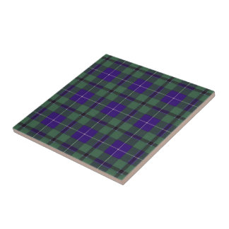 Douglas Scottish Tartan Tile