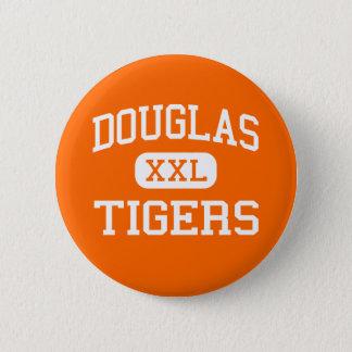 Douglas - Tigers - High School - Minden Nevada 2 Inch Round Button