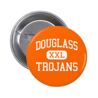 Douglass - Trojans - High - Oklahoma City Oklahoma 2 Inch Round Button